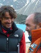 Juanito, en el CB con Martín Ramos y Jorge Egocheaga. Foto: Kinga Baranowska