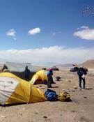 Campo base chino a 5.000m