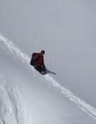Nieve hasta la cadera en el Manaslu. Foto: Col. Tente Lagunilla