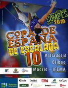 Cartel de la Copa de España de Escalada 2010
