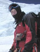 Alfredo García en el Everest