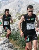 Los atletas Agustí Roc y Tòfol Castañer