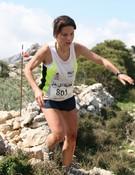 Blanca Serrano en Cursa Vall Soller`10