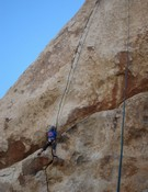 Ronnie escalando.Foto:blog Sonnie Trotter