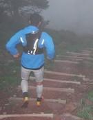 Corriendo entre la niebla. Foto: Salomon