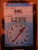 La prueba del GPS. Foto: Sebastian Copeland