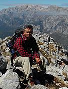 Luis Aurelio González Prieto, autor de la guía 25 rutas mineras por Asturias y Cantabria