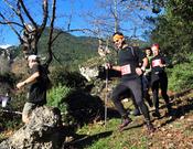 El GP de las Naciones de carreras de montaña visita el monte Olimpo en Grecia