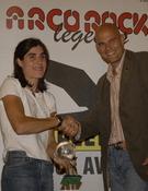 Arco Rock Legends premió a Josune en 2006. Foto: Darío Rodríguez / Desnivelpress