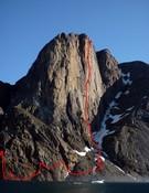 Groenlandia.Tres nuevas rutas para el equipo Favresse.