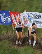 El italiano Manfred Reichegger y el español Agustí Roc durante la carrera.