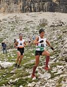 Dos participantes en plena carrera.