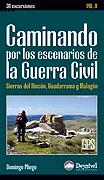 Portada de la guía Caminando por los escenarios de la Guerra Civil (Vol. II)