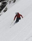 El objetivo de Ericsson, bajar esquiando el K2. Foto: Tommy Heinrich