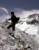 Irvine en el Everest. Foto:blog Sebastián Álvaro.
