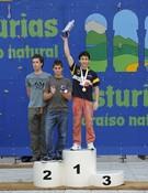Esta imagen de Ramonet en el podio no se podrá repetir en Madrid. Foto: Darío Rodríguez / Desnivelpress