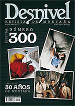 Portada de la revista Desnivel nº300 (junio 2011) EN BAJA