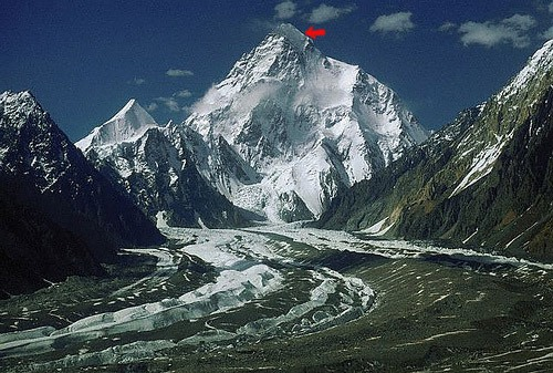 Situación del último campo de Álex Txikon y el resto de la expedición al K2.