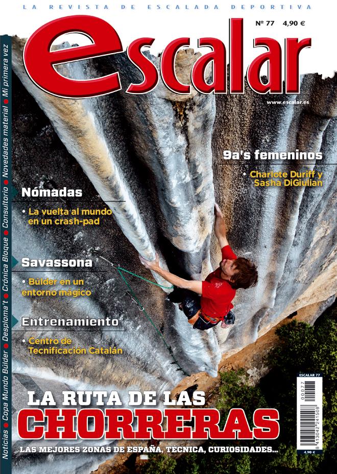 Portada de la revista Escalar nº77 (noviembre-diciembre 2011) en ALTA