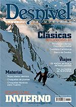 Portada de la revista Desnivel nº306 (Especial Invierno) en BAJA