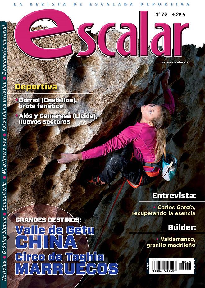 Portada de la revista Escalar nº78 (enero-febrero de 2012) en ALTA