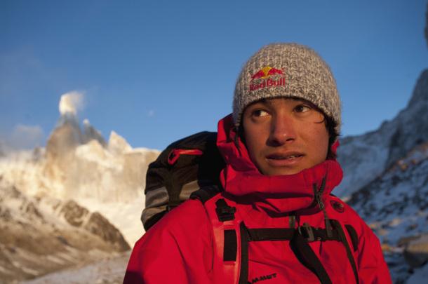 David Lama, ante el Cerro Torre