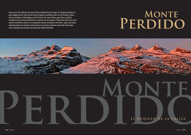 Apertura monográfico Monte Perdido