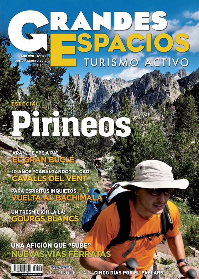 Portada de la revista Grandes Espacios nº179 (julio 2012) en ALTA