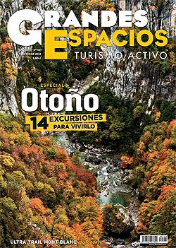 Portada de la revista Grandes Espacios nº181 (octubre 2012) para el BOLETIN