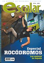 Portada de la revista Escalar nº83 (noviembre-diciembre 2012) en BAJA