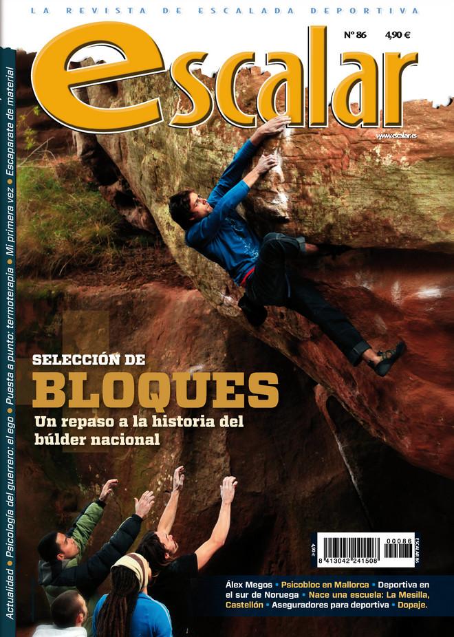 Portada de la revista Escalar nº 86. Mayo/junio 2013 [WEB]