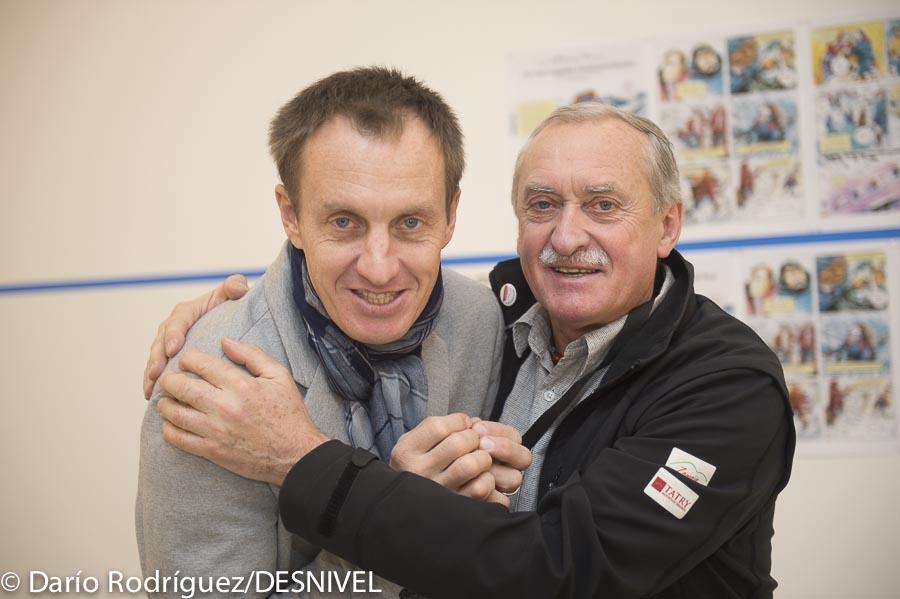 Denis Urubko y Krzysztof Wielick en Bilbao Mendi Film Festival