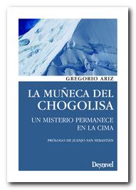 Portada del libro 'La muñeca del Chogolisa' [BAJA]