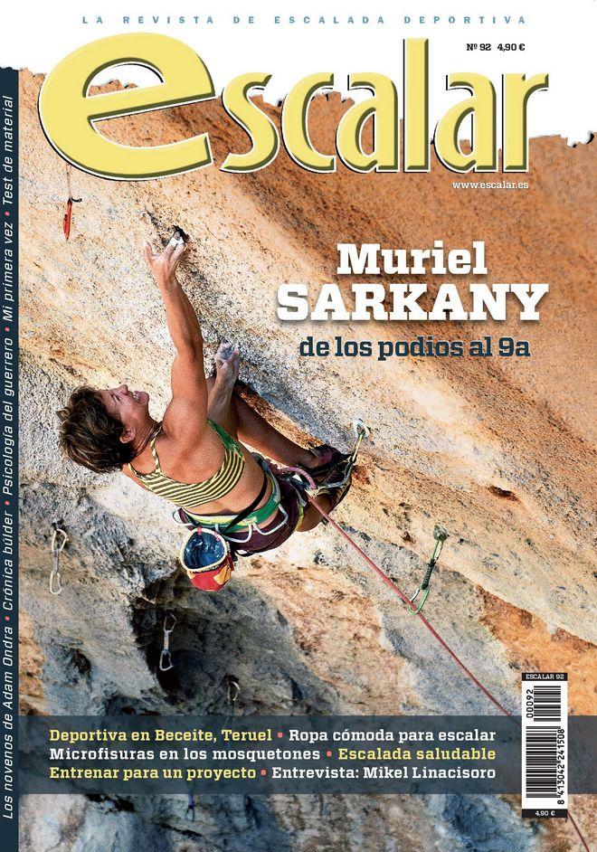 Portada de la revista Escalar nº 92. Junio/Julio 2014 [WEB]
