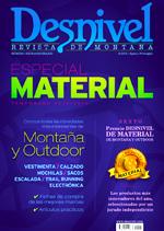 Portada de la revista Especial Material de Montaña y Outdoor de Desnive 2014/2015 [BAJA]