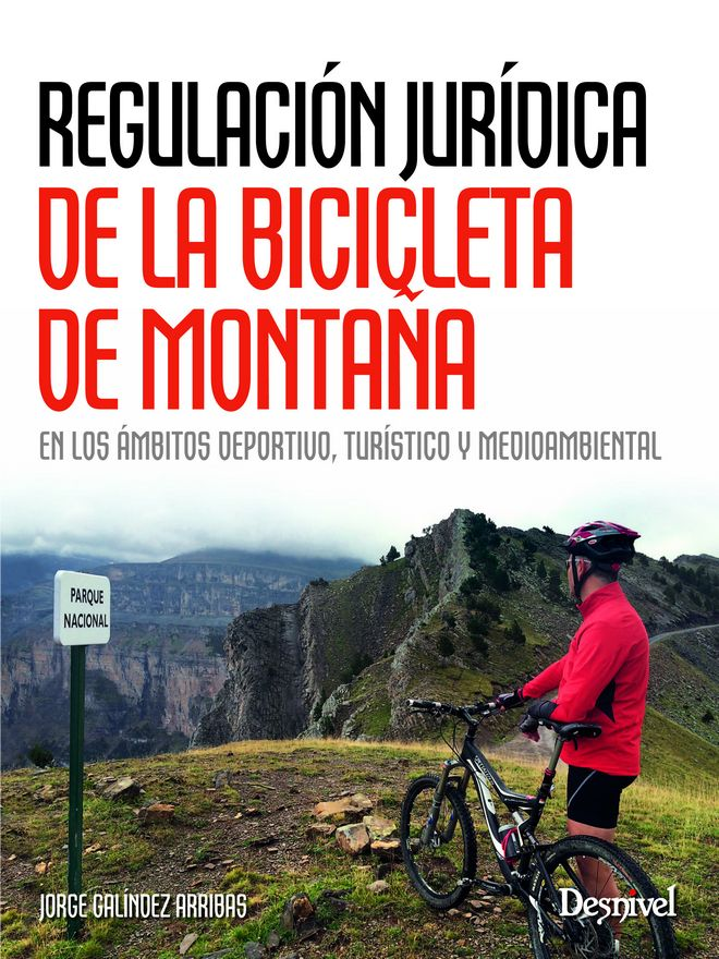 Portada del libro: Regulación jurídica de la bicicleta de montaña.[WEB]