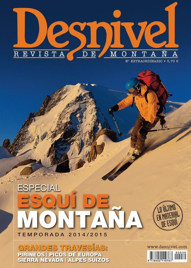 Portada de la revista Desnivel nº 342 Especial Invierno 2014/2015 [WEB]