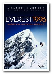 Portada del libro Everest 1996 [BAJA]