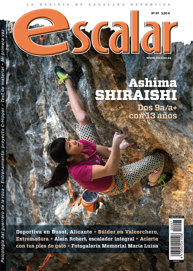 Portada de la revista Escalar nº 97. Abril-mayo 2015 [WEB]