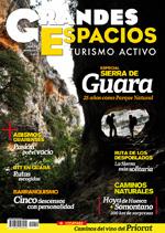 Portada de la revista Grandes Espacios nº 210 Especial Guara. Mayo 2015 [BAJA]