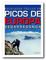 Portada de la guía Escaladas fáciles en Picos de Europa. [BAJA]