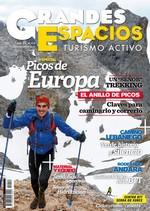 Portada de la revista Grandes Espacios nº 212. Julio 2015. Especial Picos de Europa [BAJA]