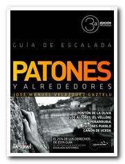 Portada de la guía de escalada en Patones y alrededores. 3ª Edición Revisada. [BAJA]