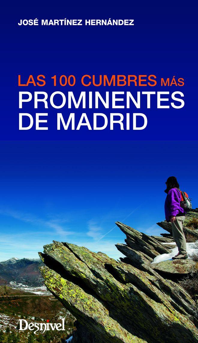 Portada del libro Las 100 cumbres más prominentes de Madrid, por José Martínez Hernández. [WEB]