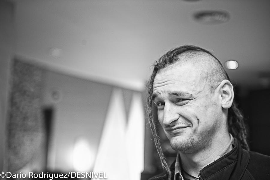 El alpinista polaco Adam Bielecki. Bilbao Mendi Film Festival 2013.