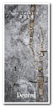 Calendario Desnivel 2016. Tamaño 22 x 49 cm; con canutillo. [BAJA]
