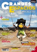 Portada de la revista Grandes Espacios nº 217. Enero 2016. [BAJA]