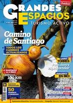 Portada de la revista Grandes Espacios nº 210. Especial Camino de Santiago. [BAJA]