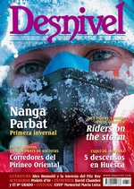 Portada de la revista Desnivel nº 358. Naga Parbat Invernal [BAJA]