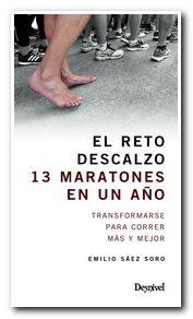 Portada: El reto descalzo: 13 maratones en un año sin zapatillas [BAJA]